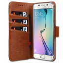 Genuine Leather Book Case VETTI Samsung Galaxy Note 5 vintage brown