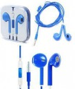Headphones iPhone 5/5G/5S/5C/6G blue