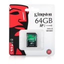 MEMORY CARD* KINGSTON SD 64GB 10 class