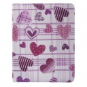"CASE FOR TABLET ""HEART"" iPad2/iPad3 white/pink"